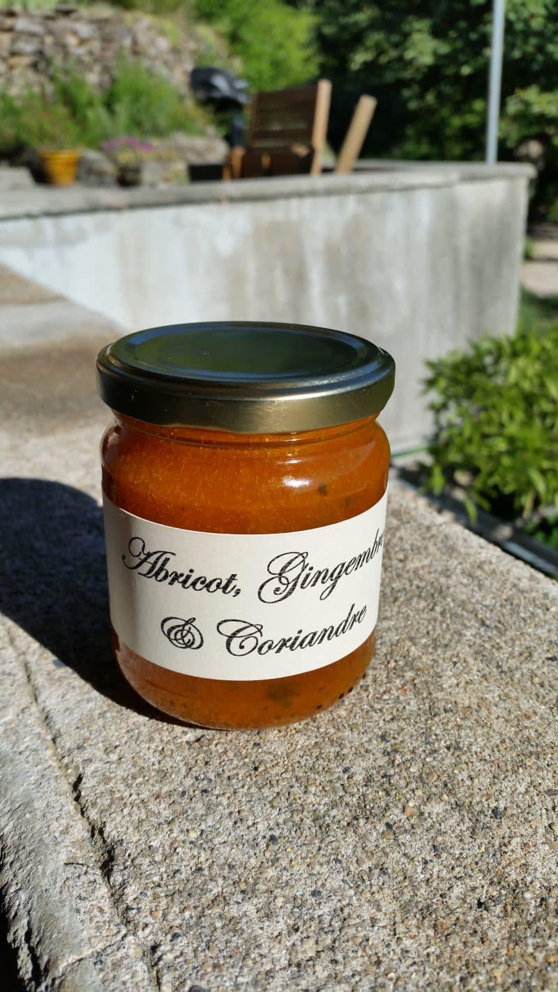 Abricot, Gingembre & Coriandre