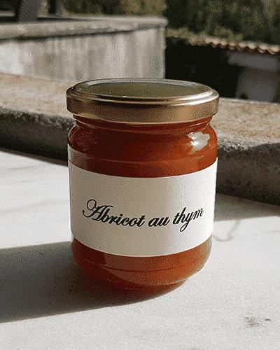Abricot au thym